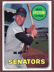 En 1969 Mike Epstein de los Senadores de Washington, batea tres jonrones en un partido. Jugó con Tiburones en las temporadas 68-69 y 70-71.