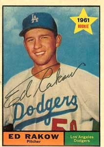 En 1961, el derecho Ed Rakow, del Rapiños, ponchó a 17 bateadores del Pampero y su equipo triunfó 2 a 1.