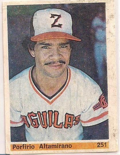 En 1952 Nace en Darillo-Nicaragua, el pitcher Porfirio Altamirano, quién reforzó al Zulia por seis temporadas entre 1979 y 1985. En el camino, ayudó al Zulia a conquistar su primera Serie del Caribe, en 1984.