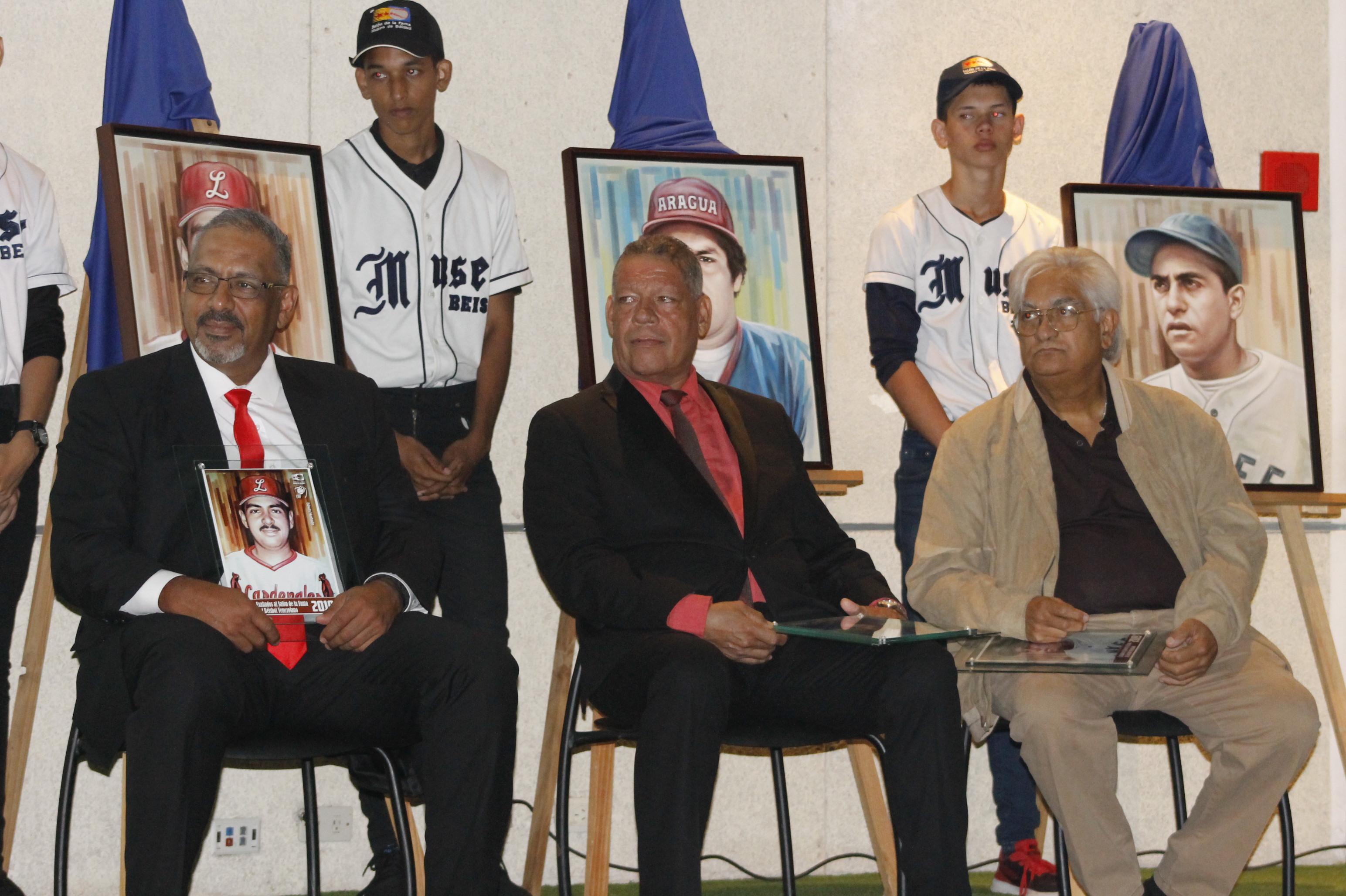 Hurtado, Hernández y Ascanio exaltados al Salón de la Fama 2019.