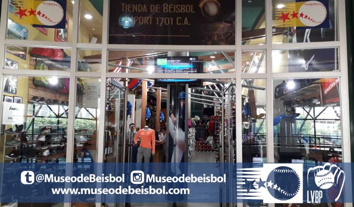 Tienda del Museo de Béisbol Venezuela